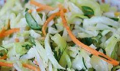 Vegetable salad for slimming. Eclairs, Vegetable Salad, Kefir, Potato Salad, Cabbage, Remedies, Food And Drink, Meat, Chicken