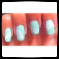 nail art - done by me :]