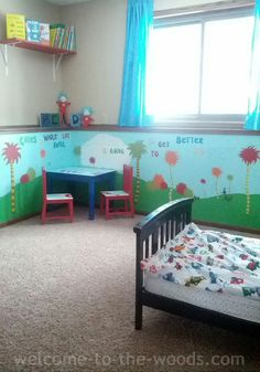 Seuss Kids Room Welcome To The Woods