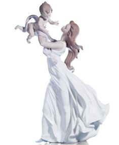 I love this more than words...  Lladro Collectible Figurine, My Little Sweetie