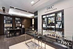 IWC Schaffhausen's new boutique at Causeway Bay, Hong Kong. This is its first street street-level store in this city.