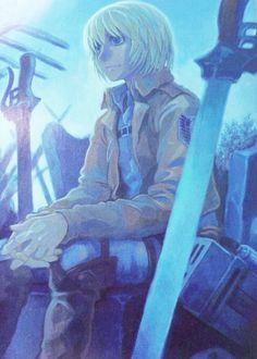 Armin Arlert, del manga Shingeki no Kyojin, dibujado por Kiyohiko Azuma (Yotsuba&!).