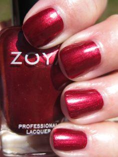 Zoya Isla nail polish --- Zoya is toluene, camphor, formaldehyde and DBP (dibutyl phthalate) free! No toxins!