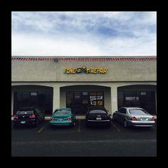 Mini car meet at work!   #fonestarrepair #Vegas #lasvegas #stayeuro #germancars #audi #bmw #mercedes #volkswagen  (at FoneStar Repair)