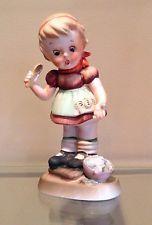 """Vintage Lefton """"Little Miss Muffet"""" Nursery Rhyme Figurine SP/2"""
