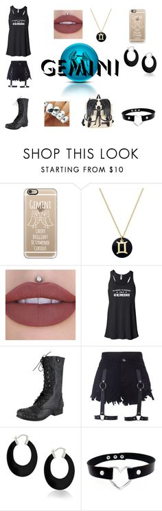 """""""An awesome Gemini"""" by scorpio-queen ❤ liked on Polyvore featuring Casetify, Giani Bernini, Steve Madden, Bling Jewelry and Hot Topic"""