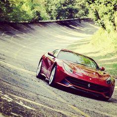Ferrari hitting the track this New Year