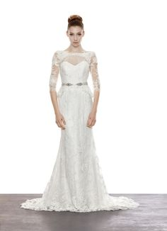 A Lace Obsession ✈ Lusan Mandongus   Fly Away Bride