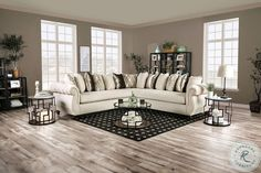 Savesto Ivory Small RAF Sectional from Ashley   Coleman Furniture Brown Sectional Sofa, Fabric Sectional, Big Sofas, Counter Height Dining Sets, Large Pillows, Throw Pillows, Inexpensive Furniture, Sofa Tables, Chenille