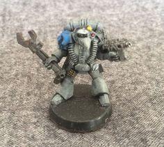 Warhammer 40k Space Marine Tech Marine W/wrench Rogue Trader Metal Oop Gw #GamesWorkshop