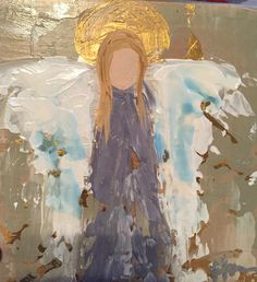 Angel Woodblock, Lindsey Homra Siroky