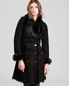 Burberry London Trench - Hadston Shearling | Bloomingdale's