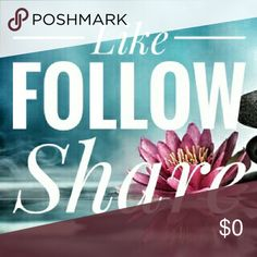 Help me welcome my sister to posh! Follow game! My sister just joined poshmark and has some beautiful listings,  help me get her some followers to see her wonderful closet! @tarynsdm 1. Like this listing, 2. follow everyone who likes it, 3. tag friends and share this listing, 4. Watch for new likes to follow, 5. enjoy new closets and followers! Thanks for helping me welcome my sister! Other