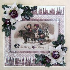 Een van de laatste kerstkaarten van dit jaar en hiermee wens ik iedereen hele fijne kerstdagen toe.     One of the last Christmas card this...