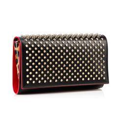 439e3e1556 Bags - Paloma Clutch - Christian Louboutin Black Leather Handbags