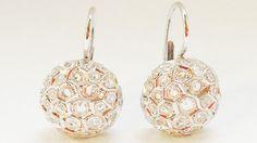Bling Bling! Sidney Garber earrings worn by Katie