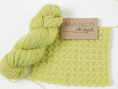 Silk Blend by Manos del Uruguay - #Yarn review from Love of #Crochet magazine