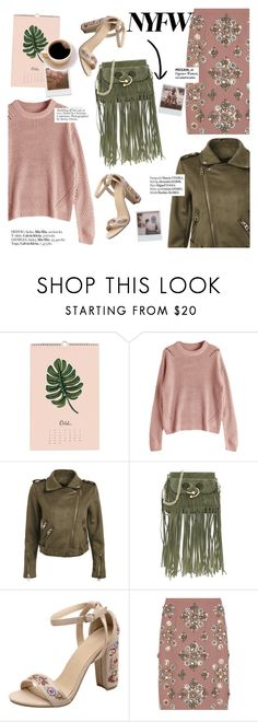 """""""Nyfw"""" by punnky ❤ liked on Polyvore featuring J.W. Anderson, Miu Miu, Impossible Project and Haute Hippie"""