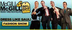 Dress Like Saul! Click for a fashion show!