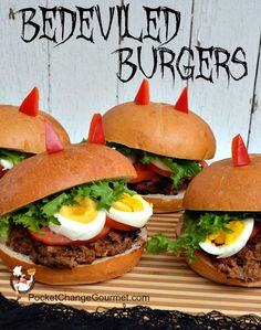 BeDeviled Burgers Pin