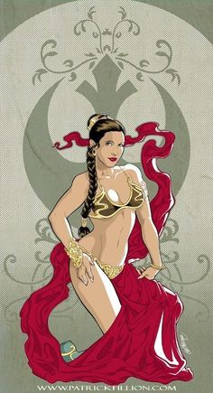 Princess leia as jabbas slave Leia Star Wars, Star Wars Art, Star Trek, Princess Leia Slave, Star Wars Princess Leia, Film Science Fiction, Star Wars Cartoon, Saga, Cuadros Star Wars
