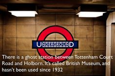 There are about 40 abandoned or relocated stations on the Underground network along its entire 255 miles (408Km) of trackway.