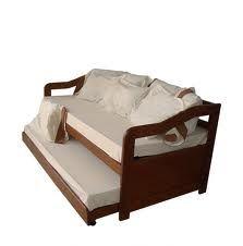 Cama individual muebles pinterest camas individuales for Sofa cama individual espuma
