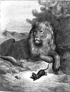 The Fables of La Fontaine, by Jean de la Fontaine. Illustrator: Gustave Doré