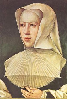 6) MARGARETA VAN OOSTENRIJK / MARGUERITE D' AUTRICHE (Brussel 1480-1530 Mechelen) soeur de Philippe le Beau, gouvernante générale des Pays-Bas Bourguignons