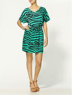 Collective Concepts Jungle Dress | Piperlime. Talk about BOLD! $31.97 I could do that!