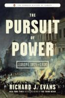 Between 1815 and 1914, Europe saw significant changes in every area: science and the arts, politics and culture, industrialization and views on individual liberty. Historian Richard Evans explores European developments during the 19th century, finding special significance in the quest for power by individuals in all social classes, by business leaders, and by governments.
