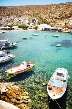 That turquoise sea! Sifnos in the Greek Islands. Photograph by David Loftus