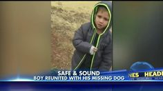 This video of a little boy reuniting with his lost dog is the best