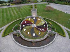 niagara falls floral clock - Google Search