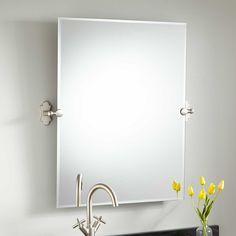 """32""""+Tangular+Rectangular+Tilting+Mirror"""