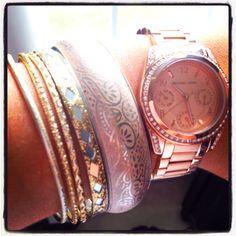 "MK ""Blair"" watch :)"