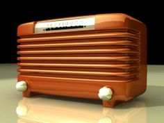 Turn Your Radio On, Vintage Antiques, Vintage Items, Mid Century Rustic, Old School Radio, Radio Design, Retro Radios, Antique Radio, Old Tv