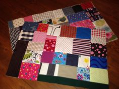 Das Februar-Feld meines 365-Tage-Quilts ist fertig
