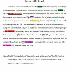 elements of a thesis paragraph