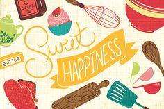 Sweet Happiness on Behance