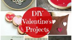 20 DIY Valentine's Projects {Link Party Features}