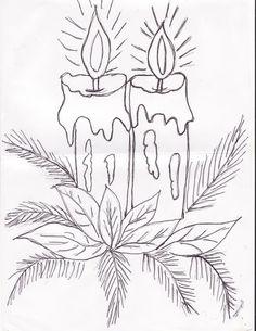 Открытки на новый год рисовать карандашом