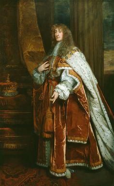 "history-of-fashion: "" Sir Peter Lely - James II when Duke of York "" Adele, Charles Ii Of England, House Of Stuart, British Nobility, James Francis, Uk History, Fashion History, Bird People, English Royal Family"
