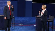 Democratic nominee Hillary Clinton and Republican nominee Donald Trump discussed topics including national security, taxes, and their ongoing personal scandals in a contentious town hall presidential debate Sunday. The Onion evaluates the truthfulness of their claims