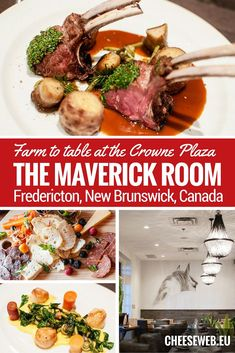 The restaurants of the Crowne Plaza in Fredericton, New Brunswick, Canada, are setting the standard for farm-to-table, slow food dining in the region and are not to be missed. Fredericton New Brunswick, Drinking Around The World, Canadian Food, Yummy Food, Tasty, Slow Food, Best Places To Eat, Food Inspiration, Travel Inspiration