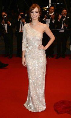 #AhnaO'Reilly #66thCannesFilmFestival #Cannes #Festival #2013 #redcarpet #ElieSaab ♥ #readytowear #shiny