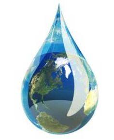 El agua es vida.