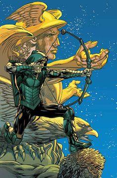 Green Arrow (Vol. Green Arrow Comics, Arrow Dc Comics, Dc Comics Art, Marvel Dc Comics, Character Drawing, Comic Character, Comic Books Art, Comic Art, Book Art