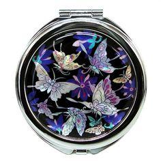 Antique alive Compact Mirror...FABULOUS