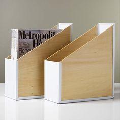 Modern Magazine File #home #homedecor #scandinavian #stockholm